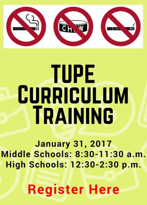 tupe-curriculum-training