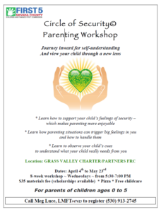 Circle of Security Parenting Workshop Flyer