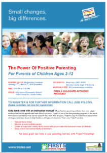 The Power of Positive Parenting - Alta Sierra